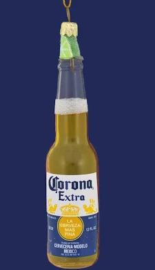 Corona Christmas Ornament Google Shopping In 2020 Corona Beer Bottle Beer Bottle Beer