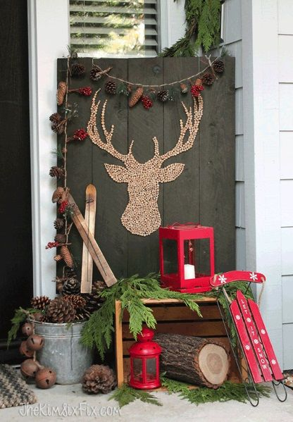 45 Outdoor Decor Ideas for Christmas Party You Could Try Yourself