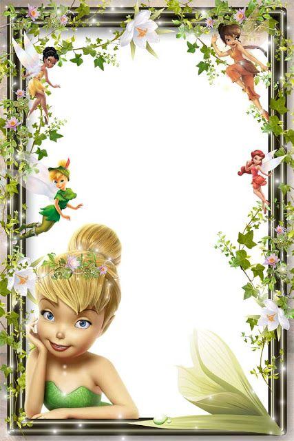 Frame For Girl Disney Frames Tinkerbell Photo Frames For Kids
