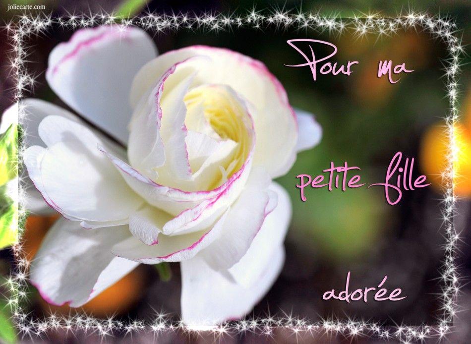 Pour Ma Petite Fille Adorée Carte Virtuelle Jolie Carte