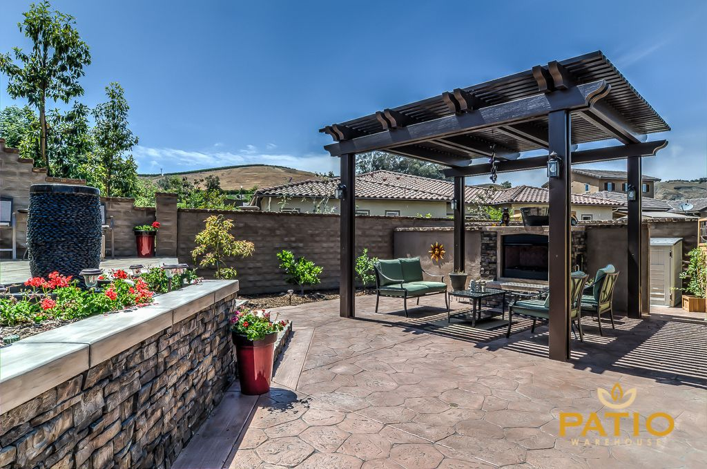 Patio Warehouse Designed U0026 Built This Backyard Remodeling Job Including The  Apollo Opening Patio Cover,