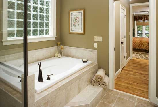 love when the bathtub is next to the shower! | for the home