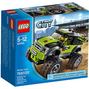 LEGO City Great Vehicles Monster Truck Building Set