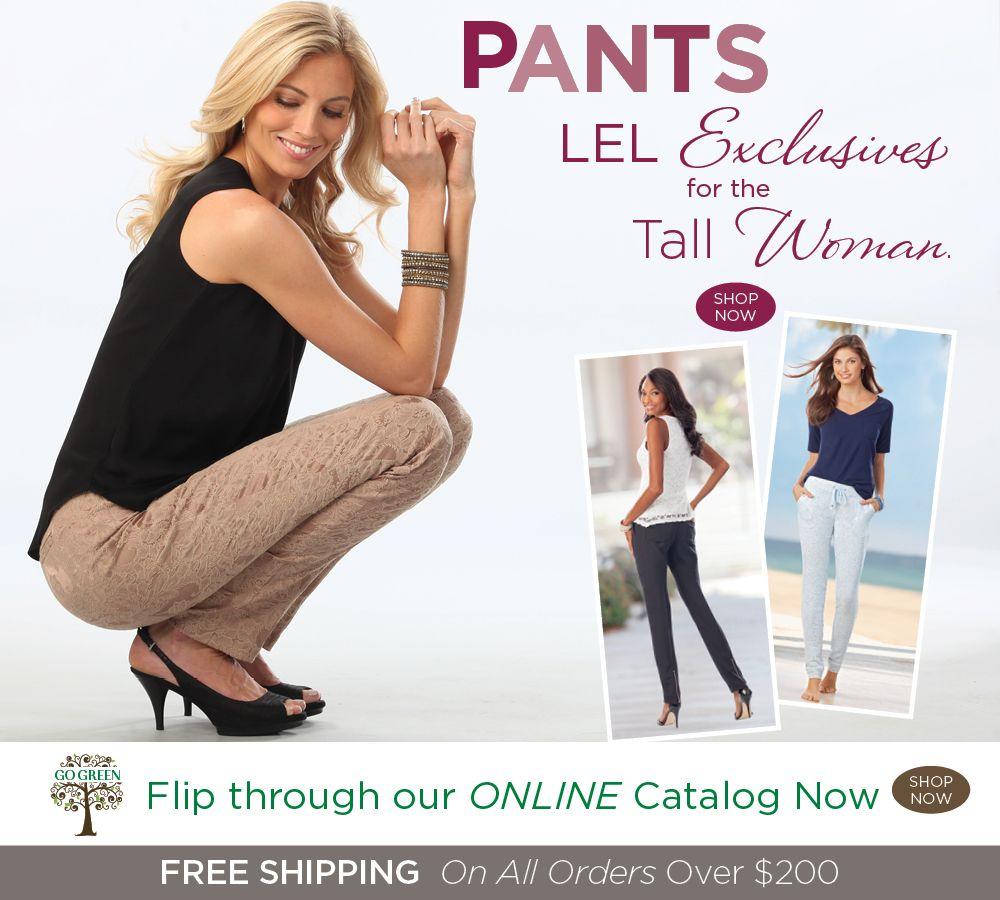 Long Elegant Legs Tall Women Clothes Homepage Banner Long