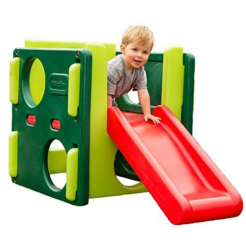 Little Tikes Junior Activity Gym W Slide In Green Little Tikes Activity Gym Playset Outdoor