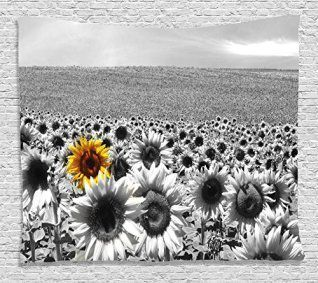 Bright, Bold and Charming Sunflower Wall Decorations #sunflowerbedroomideas