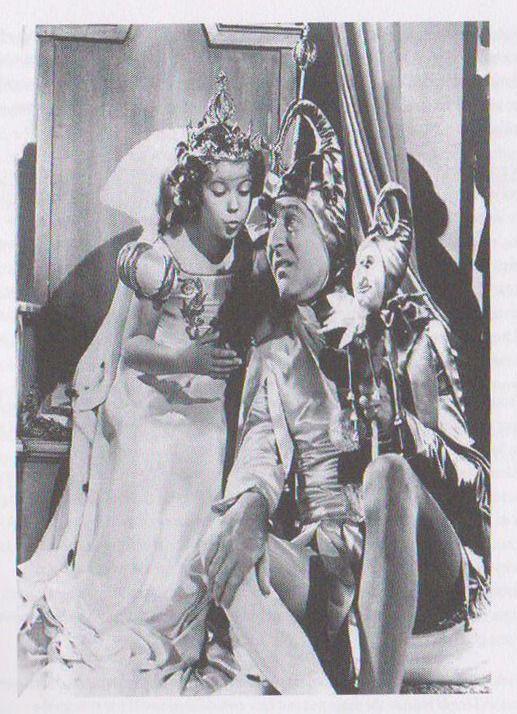 1939 Shirley Temple & Arthur Treacher in The Little Princess dream sequence