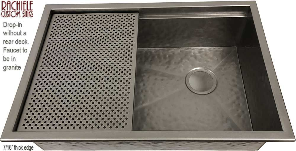 Large Single Bowl Sink To Replace 48 Inch Triple Bowl Sink With A 15 Inch Grid By Rachiele Functional Kitchen Design Custom Sinks Kitchen Remodel Inspiration
