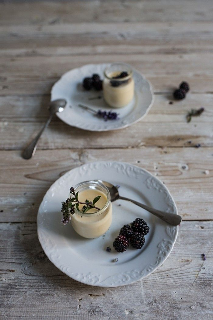 Dreamy Sundays, Beloved Old Books & A Lavender Pannacotta - From My Dining Table