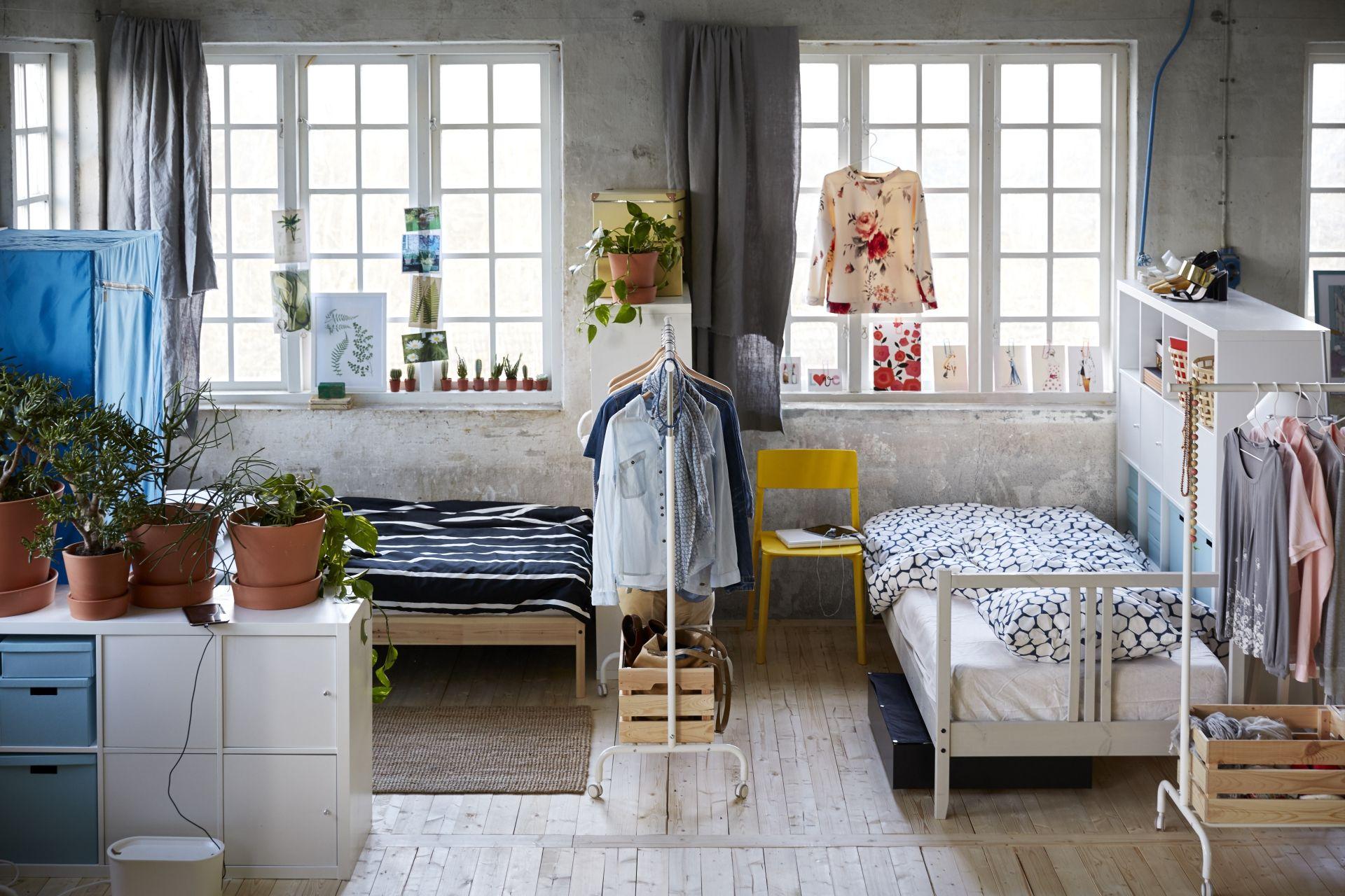 Kallax Open Kast Met Deuren Wit Bedroom Kids Dorm