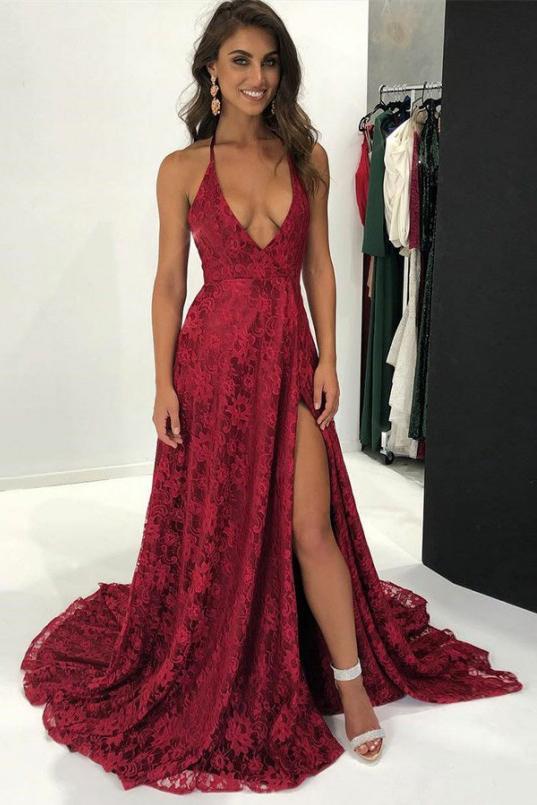 25+ Burgundy prom dresses tight ideas