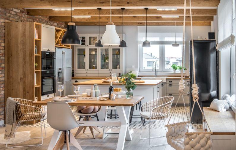 Aranzacja Kuchni I Jadalni W Eklektycznym Stylu Lovingit Pl Home Decor Home Decor Styles House Design