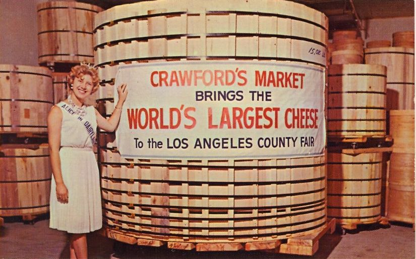 Crawford S Market Brings The World S Largest Cheese To The Los