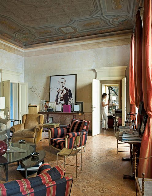 Decor Inspiration Hail to the Whimsy! Outré  Eccentric Interiors