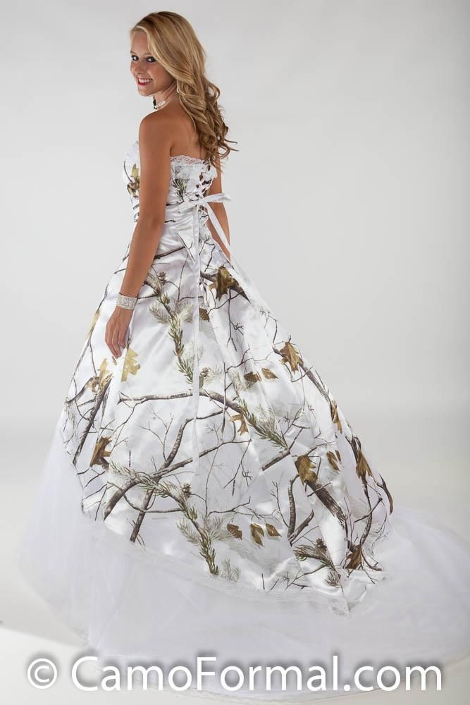 Back Full View 3010 Lace Option In Realtree Ap Snow Love