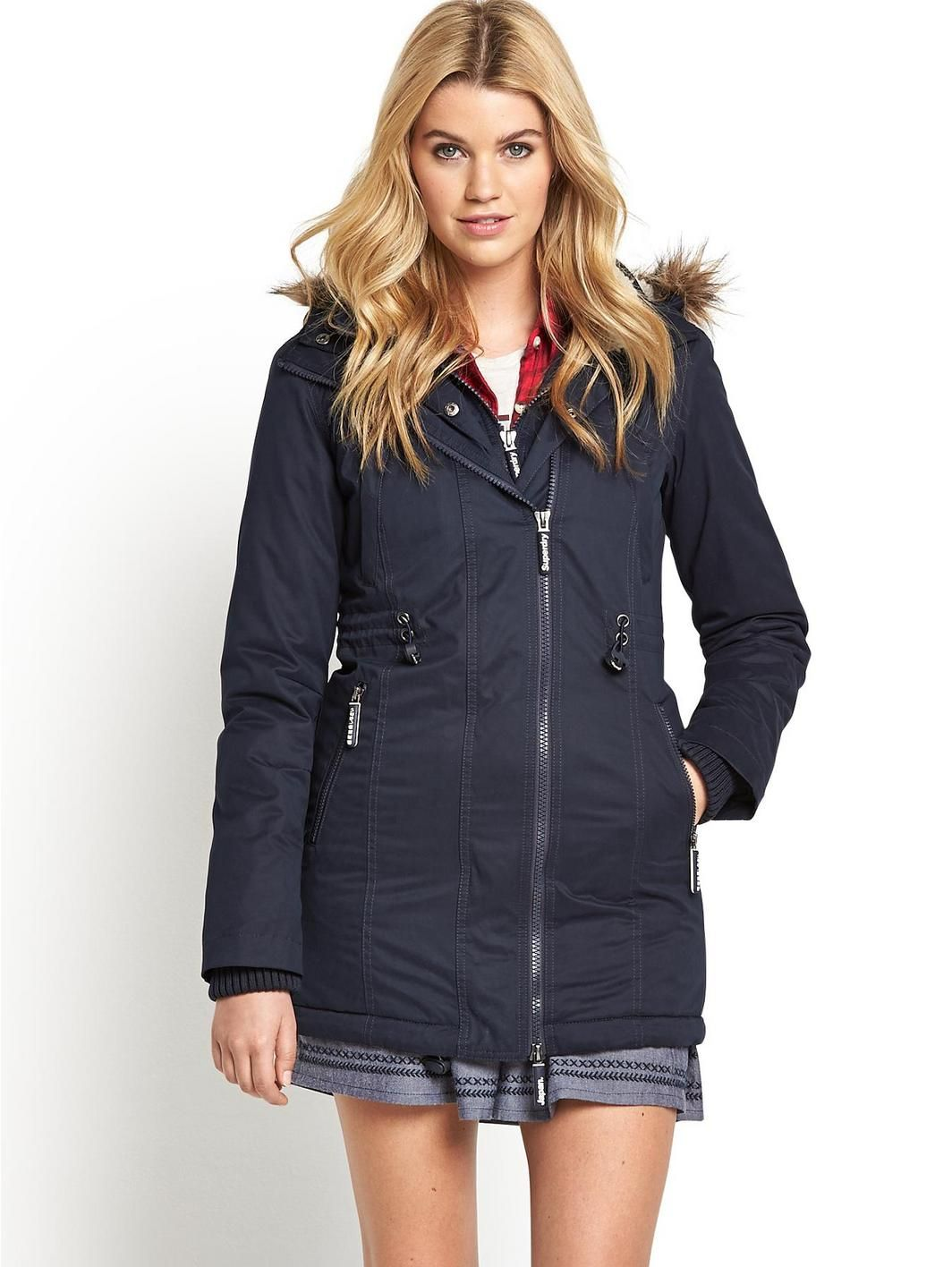 Hooded Microfibre Super Wind Parka, http://www.very.co.