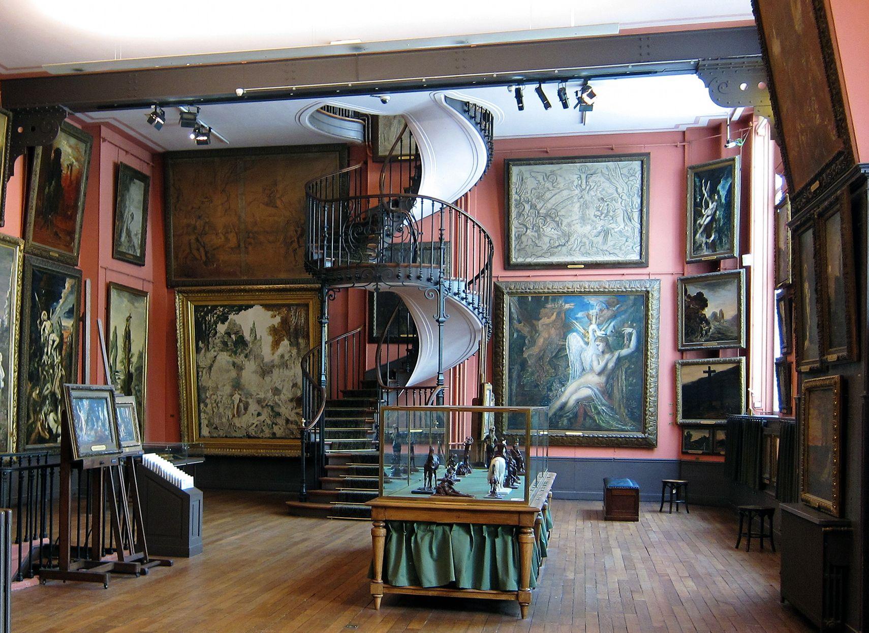Lo studio di Nadar dove nel 1874 si tenne la prima esposizione