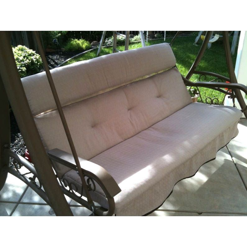 replacement cushion arched frame swing gardenwinds