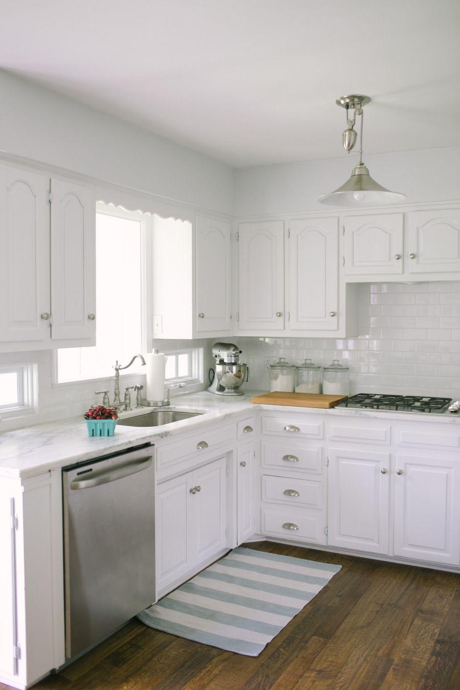 white kitchen | Cool Kitchens | Pinterest | Kitchens, House and ...