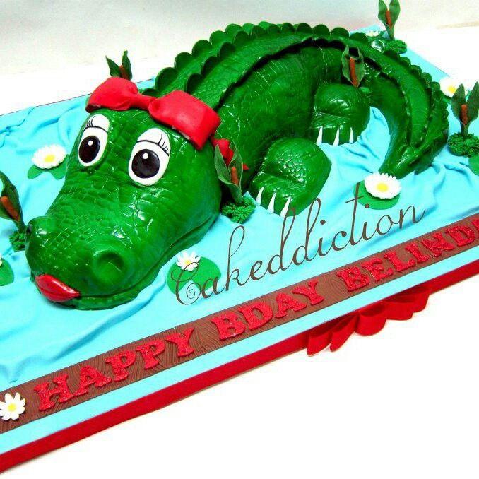 Cocodrile cake