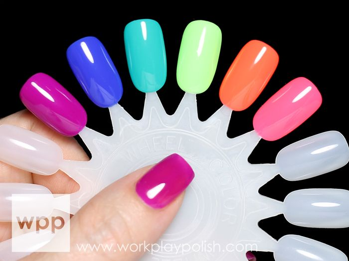 Gelish Colors of Paradise Collection Swatches and Review