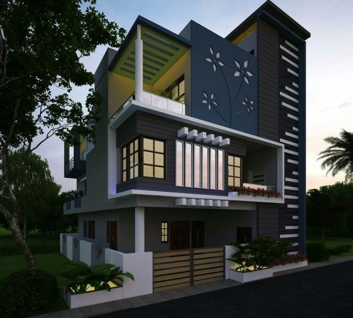 Best Elevation Design From Ghar360 Latest House Designs 400 x 300