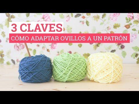 3 CLAVES: Cómo adaptar los ovillos a un patrón | cat crochet ...