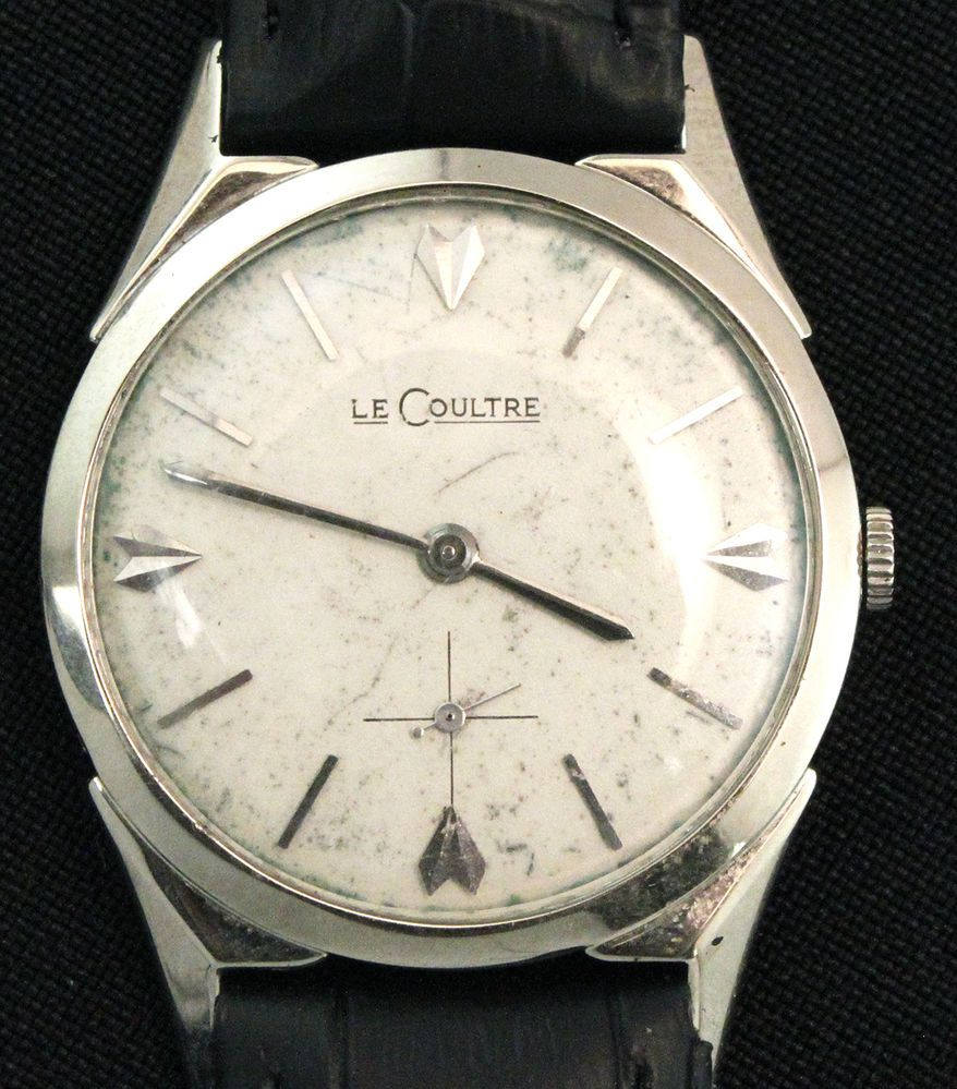 watch vintage lecoultre