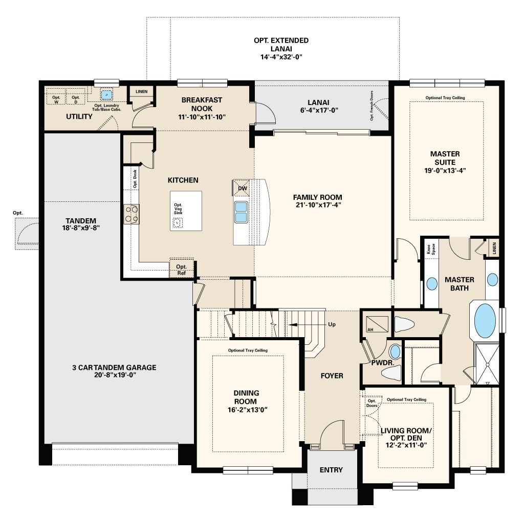 New Homes By Taylor Morrison Floor Plans How To Plan Kitchen Family Rooms