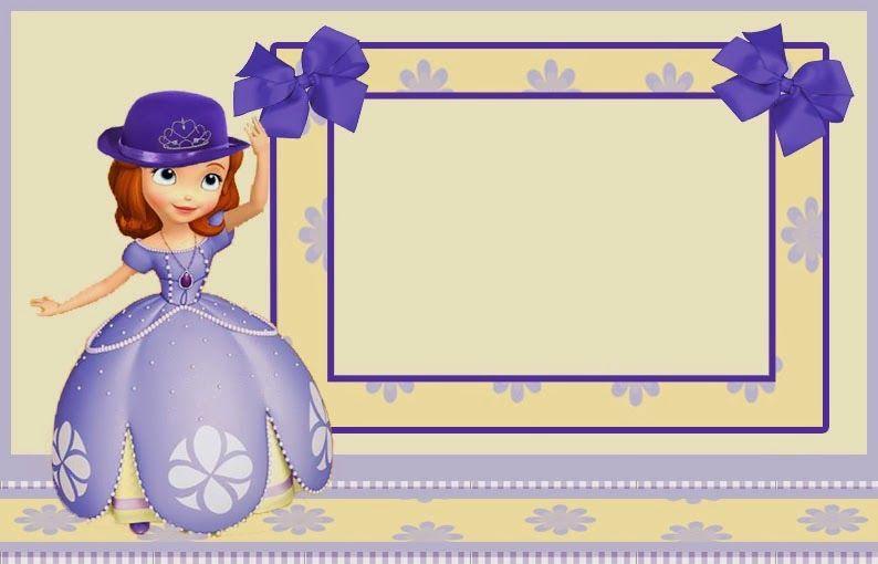 Invitaciones De Princesa Sofia Para Imprimir Gratis Party