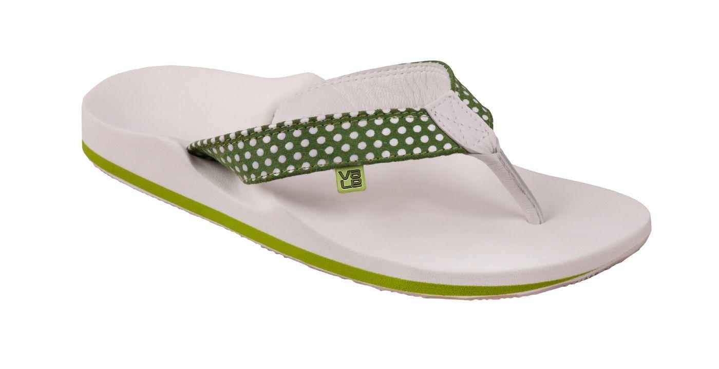 Myvale Flip Flop Zehensandale Damen Modell Wiluna Green Women Grun Weiss Mit Individuellen Fussbett Nach Fussabdruck Handmade Zehensandalen Sandalen Flip Flop