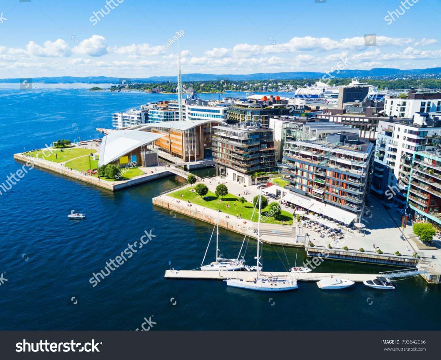 Oslo Harbor Or Harbour At The Aker Brygge Neighbourhood In Oslo Oslo Is The Capital Of Norway Harbour Countries Of The World Beautiful Wallpapers Norway Tours