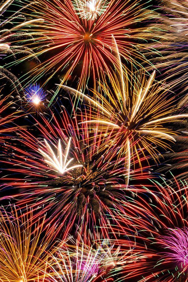 Fireworks Iphone Wallpaper Hd Fireworks Wallpaper Fireworks Happy New Year Wallpaper