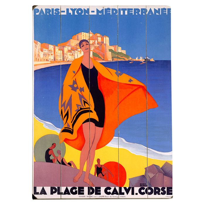 French Riviera Wall Art