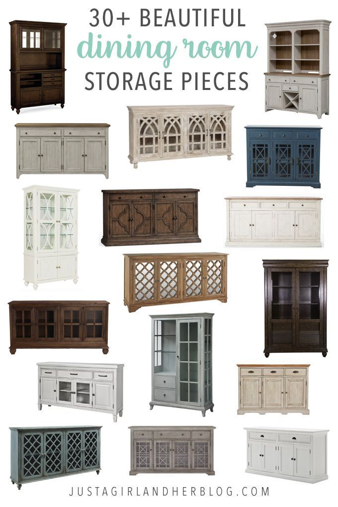 30+ Beautiful Dining Room Storage Pieces images
