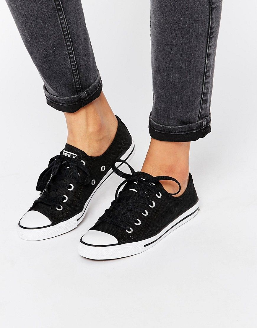 zapatillas converse all star dainty black mid