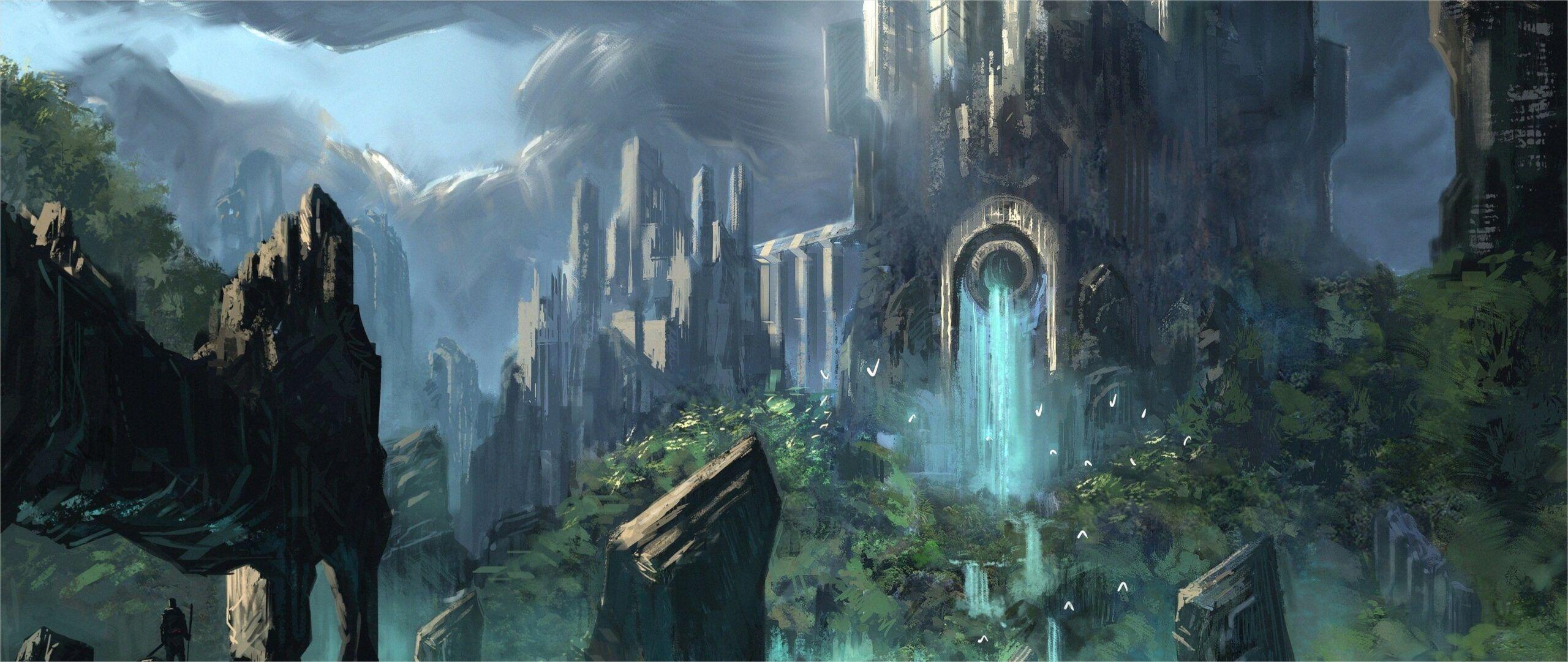 4k Dark Castle Wallpaper Fantasy Castle Fantasy Background Fantasy Landscape