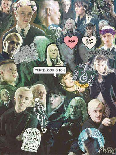 draco malfoy and his parents in harry potter kamio collage tom felton pinterest draco. Black Bedroom Furniture Sets. Home Design Ideas