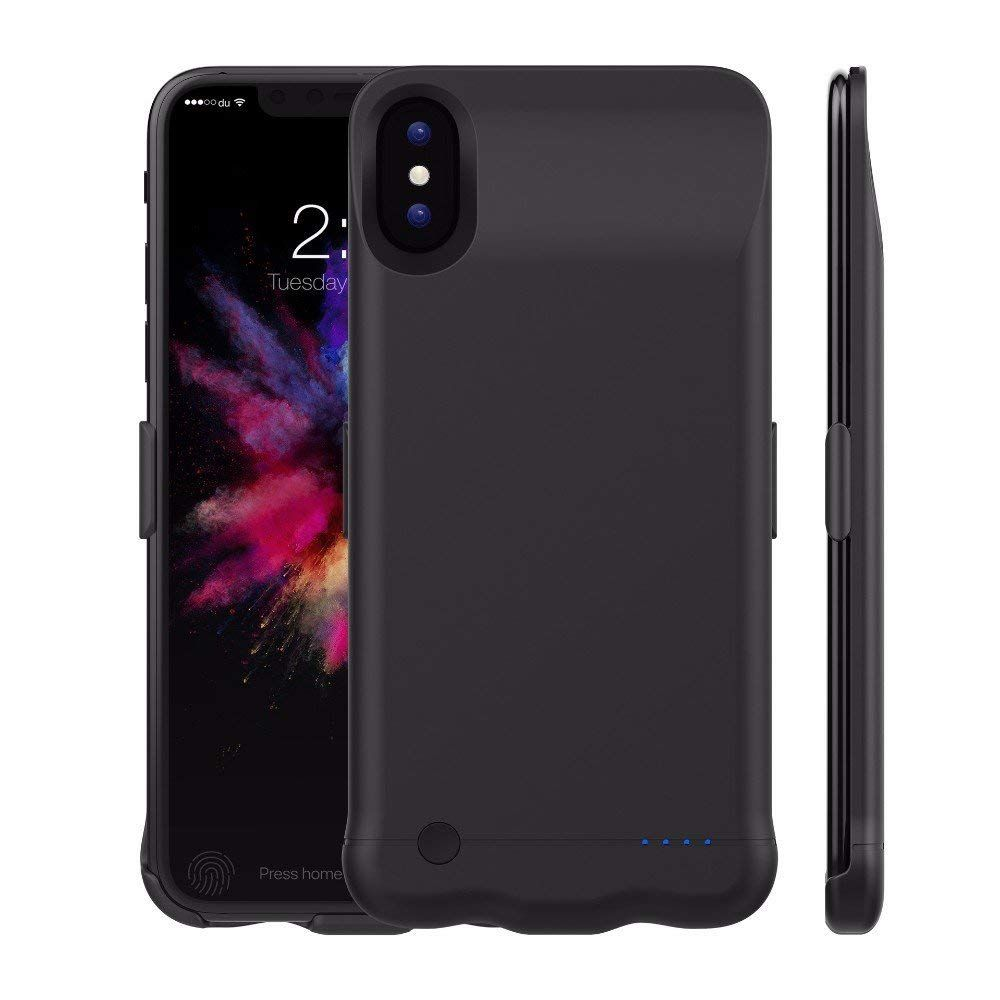 competitive price f5c43 6d362 Amazon.com: iPhone X Battery Case, 5200 mAh Battery Pack Charger ...