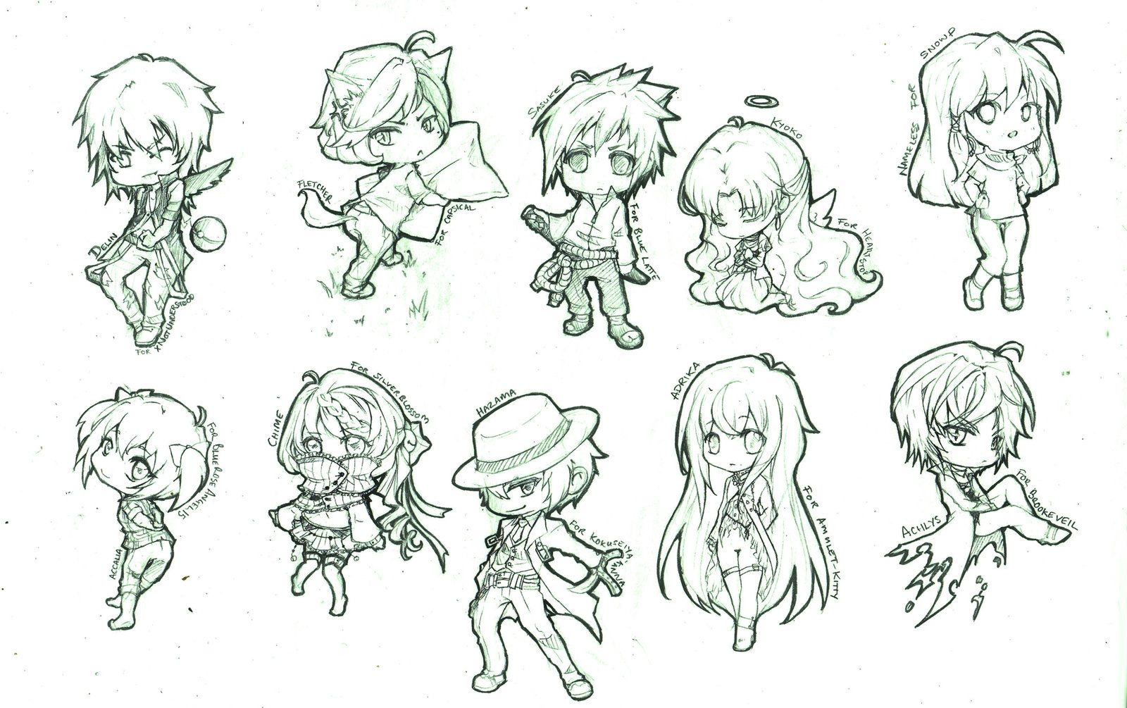 chibi poses Google Search Chibi sketch, Sketches, Chibi