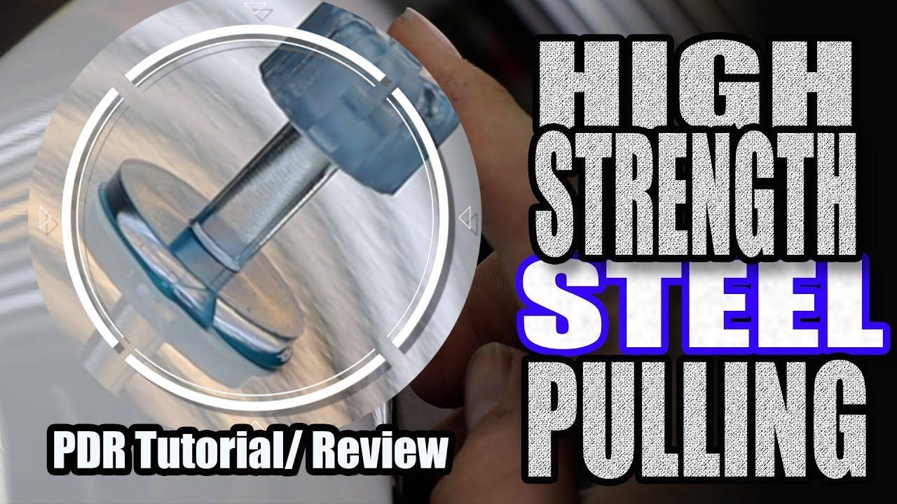 Glue Pulling Stubborn High Strength Steel PDR Tool