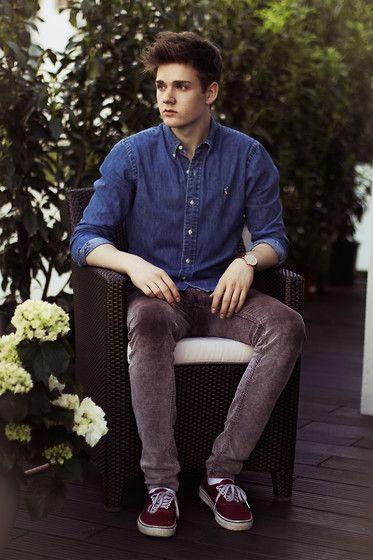 Polo Ralph Lauren Shirt, Cheap Monday Trousers, Vans