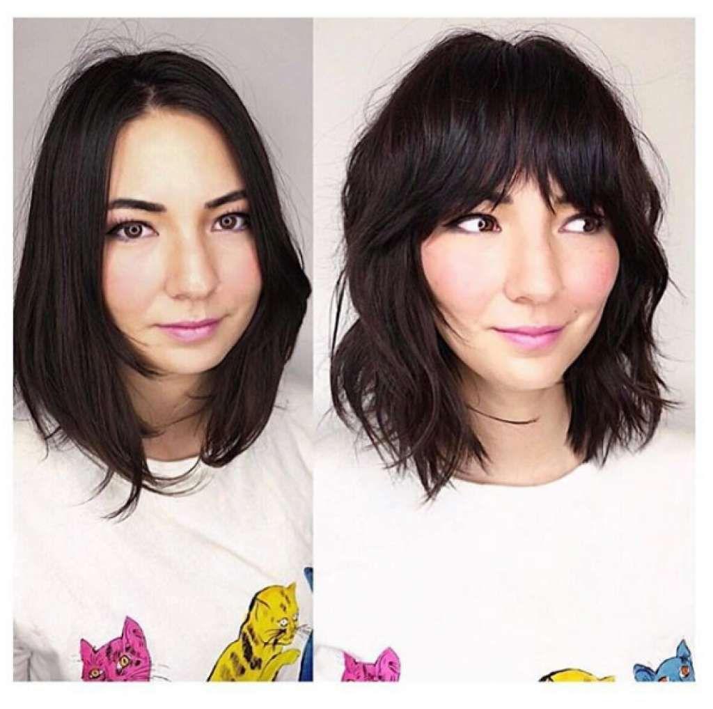Https Www Sfgate Com Style Article Haircut Hair Salon Edo Haight Shag Trim Bangs 13429667 Php Photo 16570 Short Hair With Bangs Hair Styles Short Hair Styles