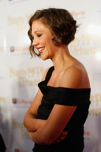 Maggie Gyllenhaal Fascinating Short Hairstyles Fashion