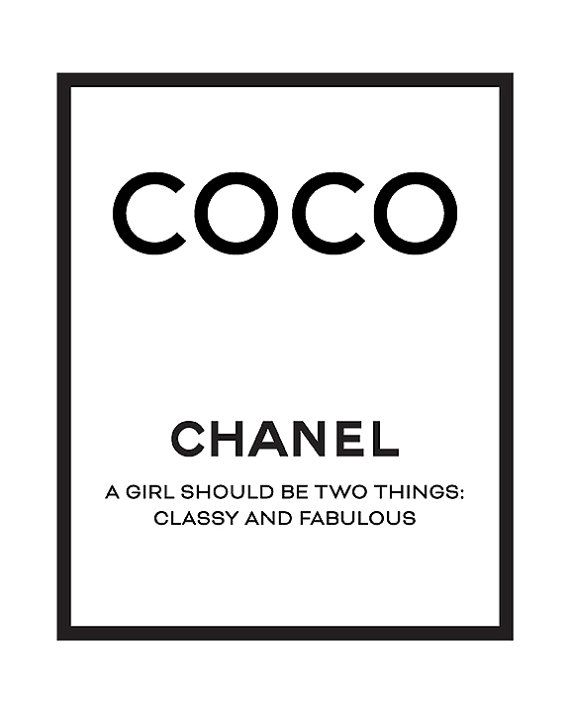 picture relating to Chanel Printable identify Coco Chanel print Chanel printable artwork Chanel estimates Chanel