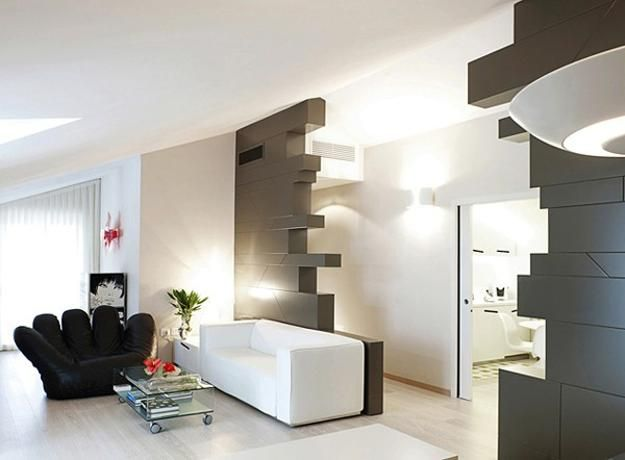 Apartments Gorgeous Apartment Interior In Minimalist Style Design