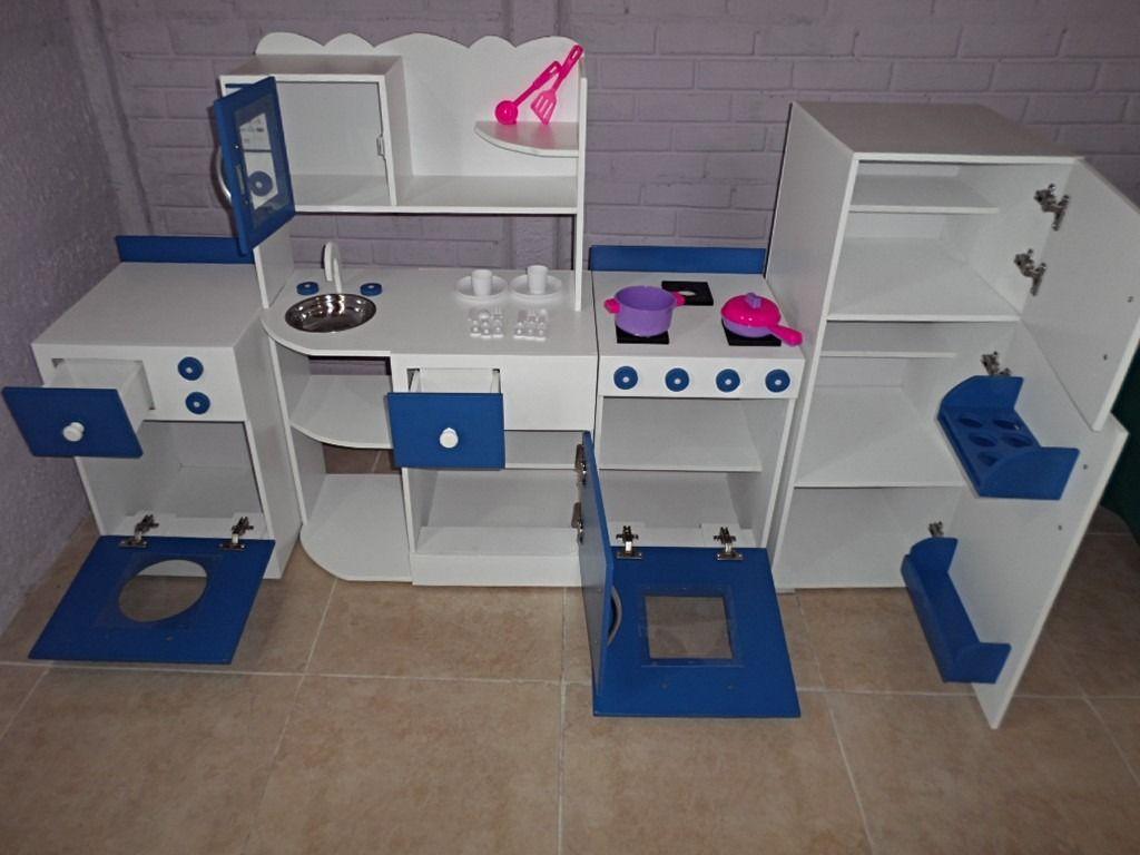 muebles cocina infantil juego cocinita casita rincon jardin | casa ...