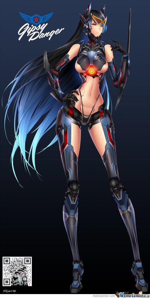 Anime danger girl