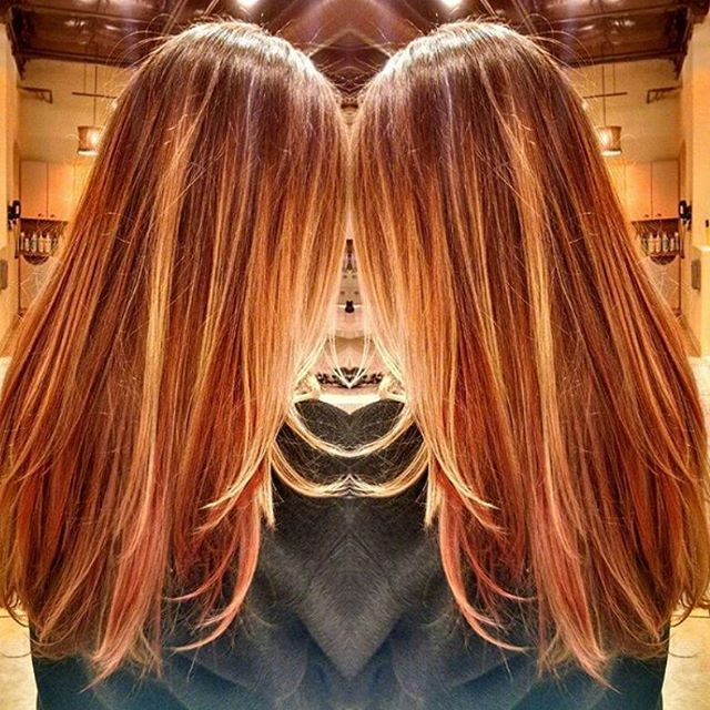 Image Result For Highlights And Lowlights For Auburn Hair Good