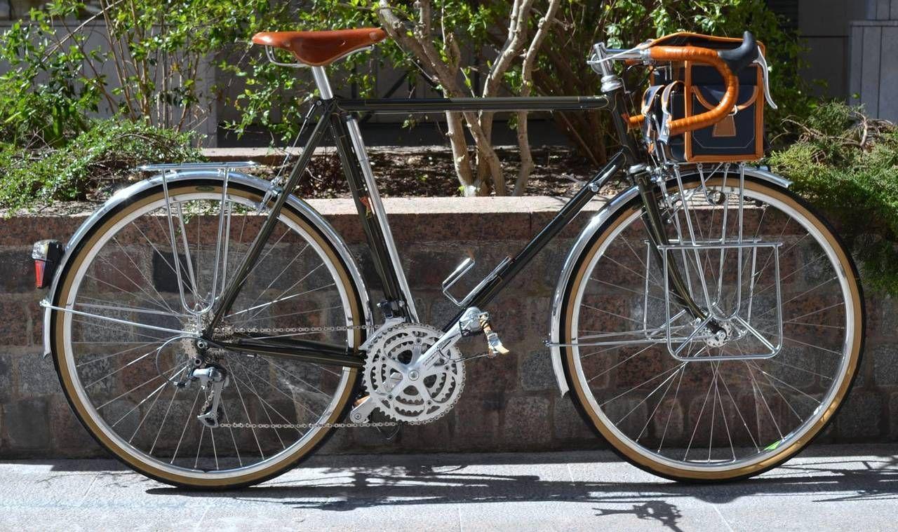 Accroche Velo à cycles alex singer - vélo de cyclo camping avec un porte bagage
